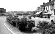 West Wickham, Coneyhall Estate from Croydon Road c1955