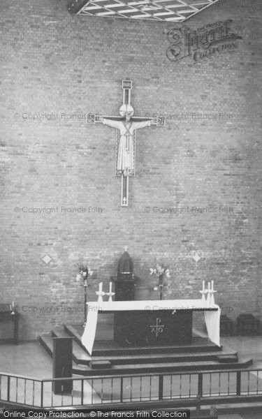 Photo of West Wickham, High Altar, Coloma College Chapel c.1960