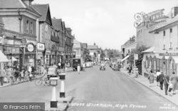 High Street c.1955, West Wickham