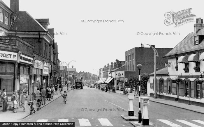 Photo of West Wickham, High Street c1955