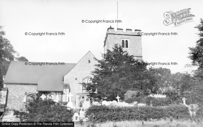 Photo of West Wickham, Parish Church c.1939