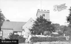 Parish Church c.1939, West Wickham