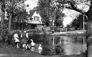 West Wickham, the White Hart c1955