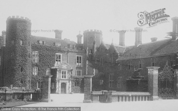 Photo of West Wickham, Wickham Court 1899