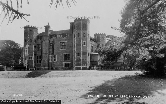Photo of West Wickham, Wickham Court, Coloma College c.1960