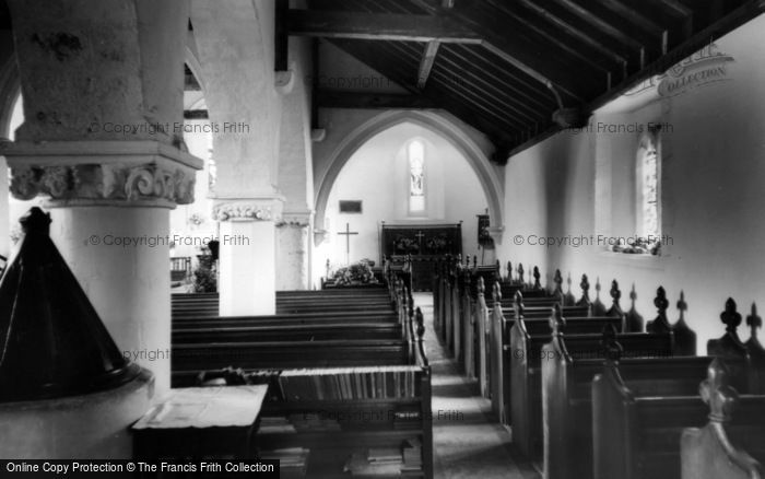 Photo of West Wittering, Church Of St Peter And St Paul, Side Altar c.1965
