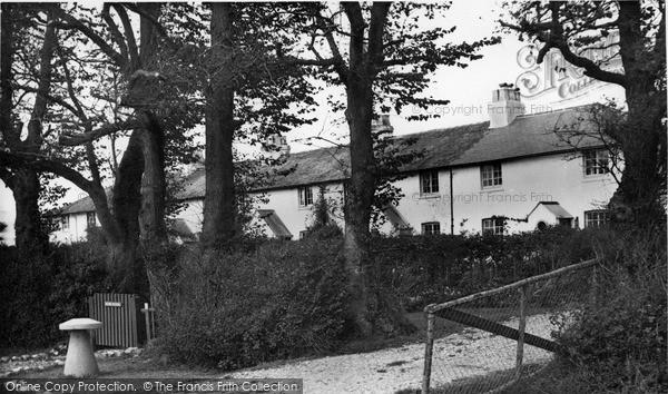Photo of West Wittering, Coastguard Cottages c.1955