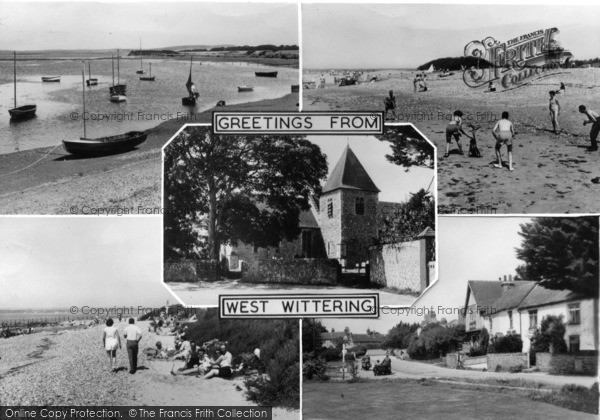 Photo of West Wittering, Composite c.1955