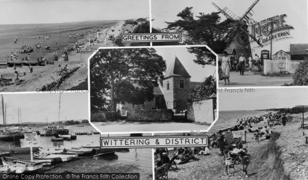 Photo of West Wittering, Composite c.1960