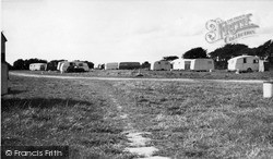 Russells Caravan Site c.1955, West Wittering