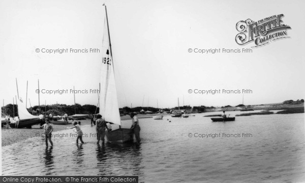 Photo of West Wittering, Sailing c.1965