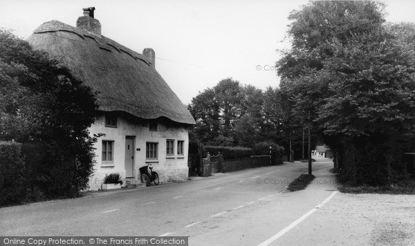 Photo of West Wittering, Thatched Cottages c.1965