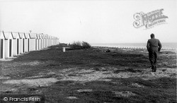 The Bathing Huts c.1955, West Wittering