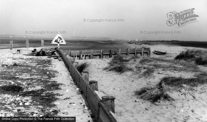 Photo of West Wittering, The Beach c.1965