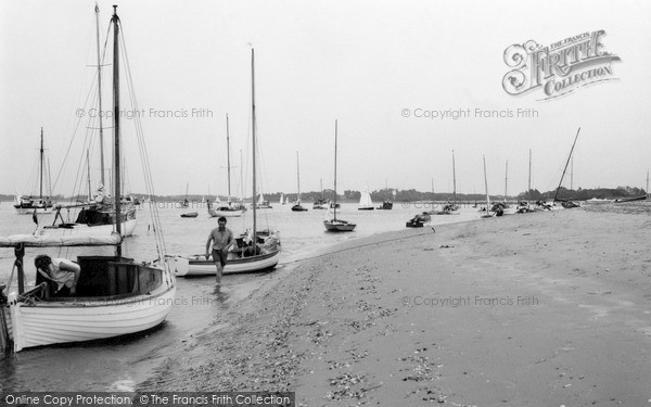 Photo of West Wittering, The Harbour 1963