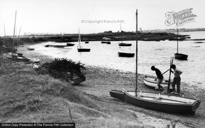 Photo of West Wittering, The Harbour c.1955