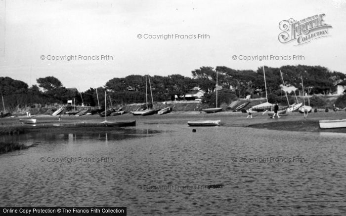 Photo of West Wittering, The Harbour c.1960