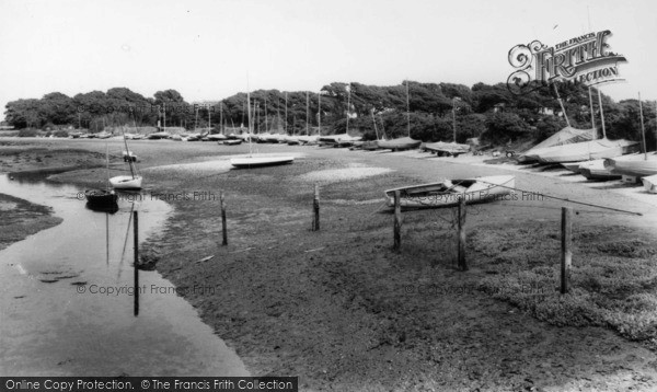 Photo of West Wittering, The Harbour c.1965