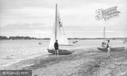 Yachts On The Shore c.1960, West Wittering