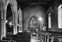 Church Interior 1911, West Witton