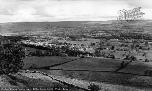 Photo of West Witton, General View c.1960