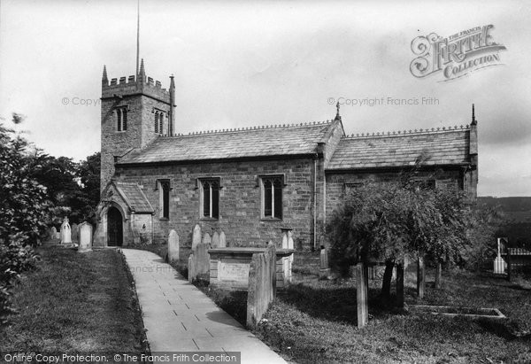 Photo of West Witton, St Bartholomew's Church 1911
