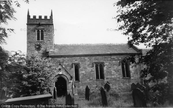 Photo of West Witton, St Bartholomew's Church c.1960