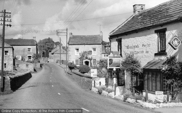 Photo of West Witton, The Wensleydale Heifer And East View c.1960