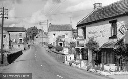 The Wensleydale Heifer And East View c.1960, West Witton