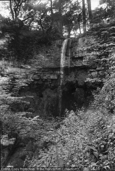 Photo of West Witton, Waterfall 1911