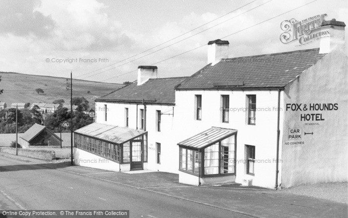 Photo of West Woodburn, Fox And Hounds Hotel c.1955