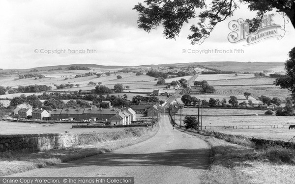 Photo of West Woodburn, General View c.1955