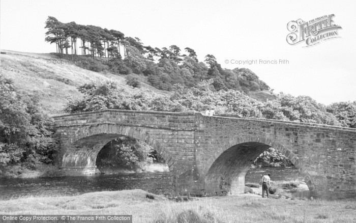 Photo of West Woodburn, The Auld Brig c.1955