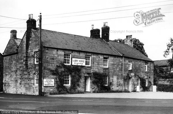 Photo of West Woodburn, The Bay Horse Hotel c.1955