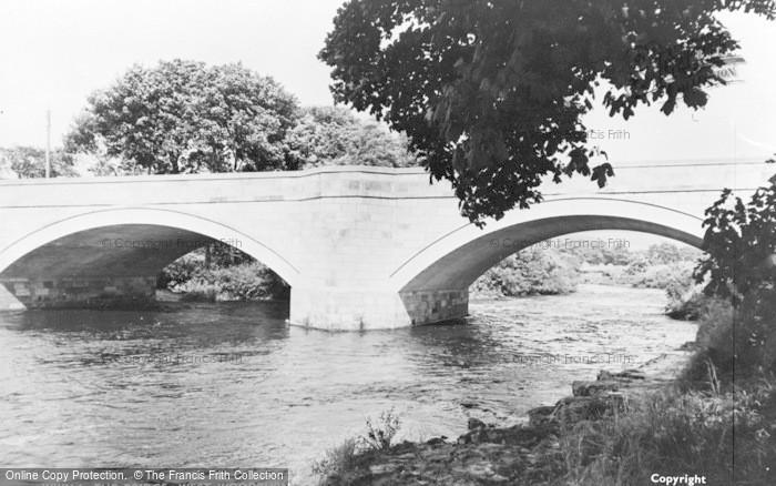 Photo of West Woodburn, The Bridge c.1955