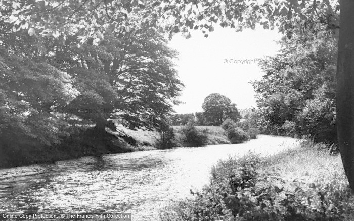 Photo of West Woodburn, The River c.1955