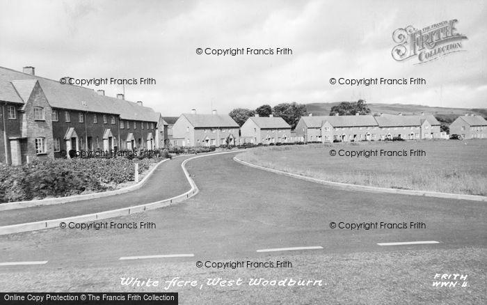 Photo of West Woodburn, White Acre c.1955