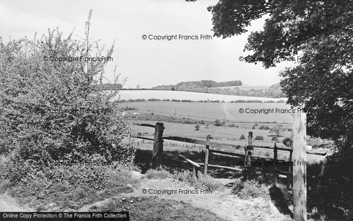 Photo of West Wycombe, A Pretty Spot c.1955