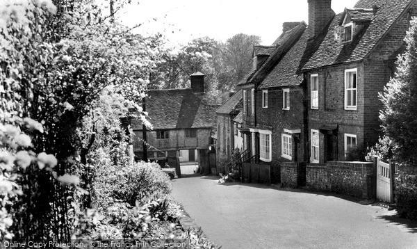 Photo of West Wycombe, Church Lane 1955