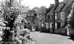 West Wycombe, Church Lane 1955