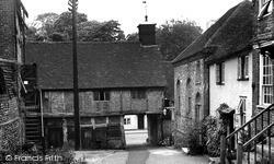 Church Lane c.1955, West Wycombe