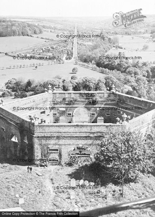 Photo of West Wycombe, General View From The Tower c.1955