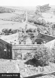 West Wycombe, General View From The Tower c.1955