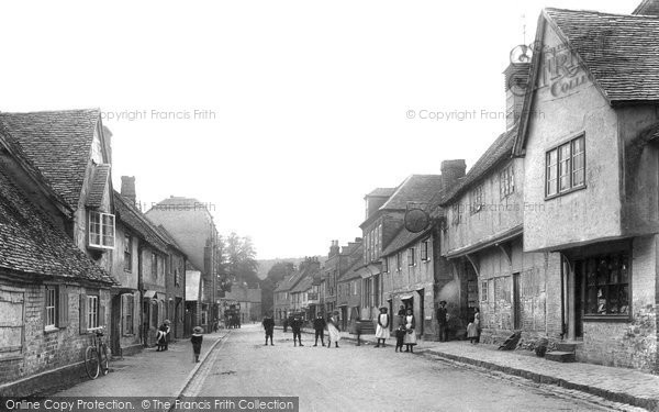 Photo of West Wycombe, High Street 1906