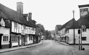 West Wycombe, High Street 1954