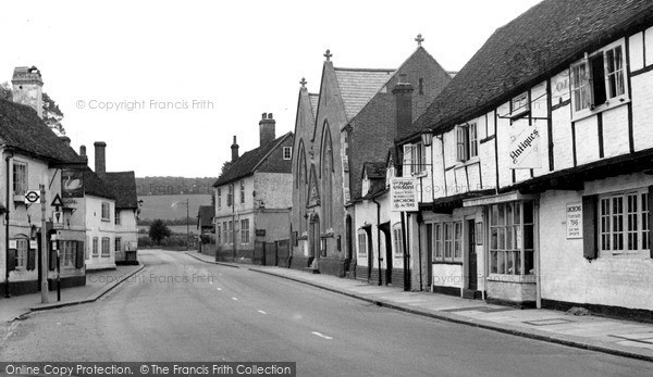 Photo of West Wycombe, High Street c.1955
