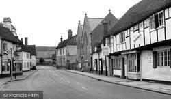 West Wycombe, High Street c.1955