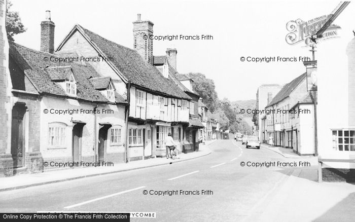 Photo of West Wycombe, High Street c.1960
