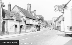 West Wycombe, High Street c.1960