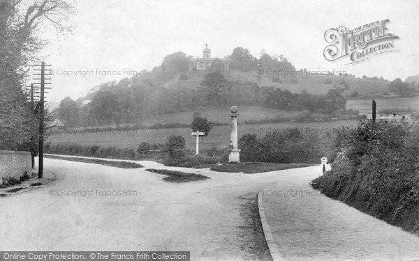 Photo of West Wycombe, Hill And The Pedestal 1906